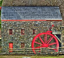 Wayside Inn Grist Mill by Monica M. Scanlan