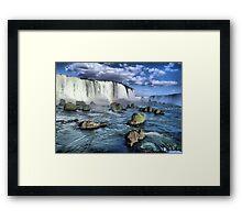 Iguacu falls Framed Print