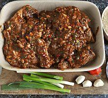 Authentic Caribbean Jerk Chicken Oven Ready by John Hooton
