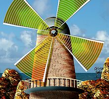 Cellophane Windmill by GolemAura