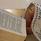 Jewish Teddy Bear studying the word of God by Rick Short