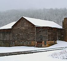 The Old Barn ...Faded, But Sturdy by Gene Walls