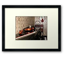 Violin on top of Piano Framed Print