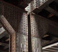 Old steel bridge by Tanja Katharina Klesse