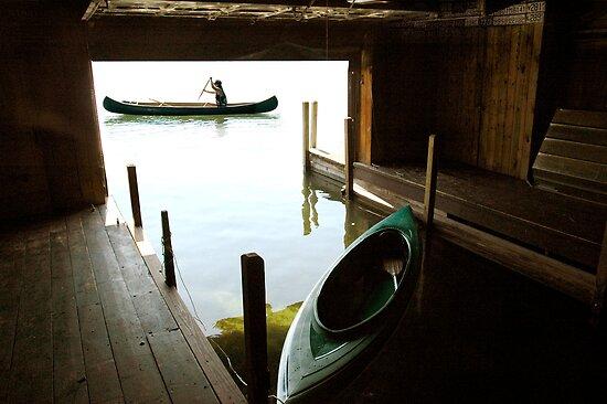 Morning Canoe by Jaime Martorano