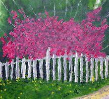 Garden Fence by Phil Davis by CoastalCarolina