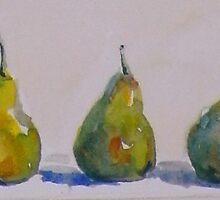 Three pears by FionaLou