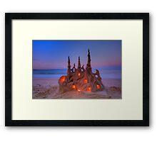 Colossal Castles Framed Print