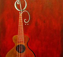 Guitar:Red by Hanzal