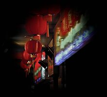 chinatown lanterns by chuckieb