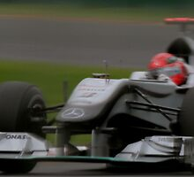 Schumacher 2010 Australian Grand Prix by ozzo