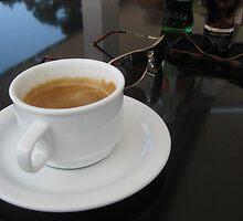 morning coffee by erwina
