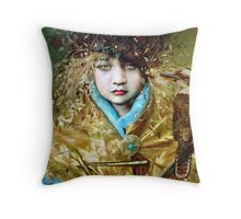 Kookaburra Princess Throw Pillow