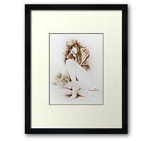 """""""Tristesse"""" Painting in Oils Framed Print"""
