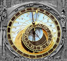 Astronomical Clock by Joe  Burns