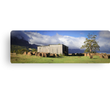 Hayshed on the Hill # 2 Canvas Print