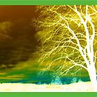 Abstract Green Tree Inversion by The Creative Minds