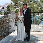 Dawn and Darren's Wedding Day-Skiathos, Greece by lynn carter