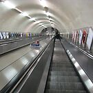 London Tube by Christine Wilson
