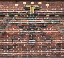 Beautiful brick - Dual-headed eagle by Marjolein Katsma