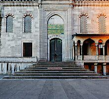 Blue Mosque, entrance ,Istanbul by Chris McIlreavy