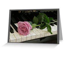 Pink Rose Prelude Greeting Card