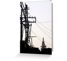 Meeting point Greeting Card