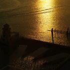 Gulf Through the Window by Lorraine Bratis