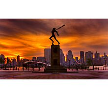Katyn - In the Shadow of Manhattan Photographic Print