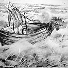 boat (afloat) by Graham Dean