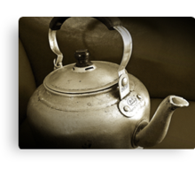 No Time for Tea Anymore...Obsolete.. Canvas Print