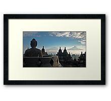 Volcanic Sunrise Framed Print
