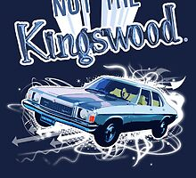 NOT THE KINGSWOOD! POSTER by SimoneYvette
