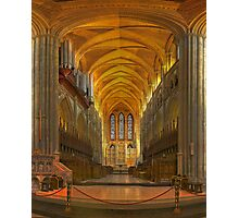 Truro Cathedral Quire and Altar Photographic Print