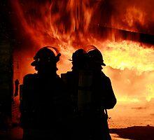 silhouette in a blaze (1) by Alex Eldridge