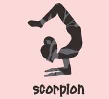 Scorpion Pose by Kristy Spring-Brown