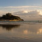 St. Michael's Mount reflected by Lorraine Parramore