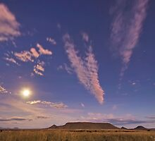 Tafelkop Moonlight by Rob  Southey
