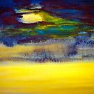 Landscape...Abstract.. Storm Warning by  Janis Zroback