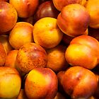Sweet Nectarines, Hollywood Farmer's Market by Ray Schiel