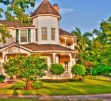 Victorian Style Cottage House by robert cabrera