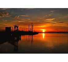 Monkey Island Sunset II Photographic Print