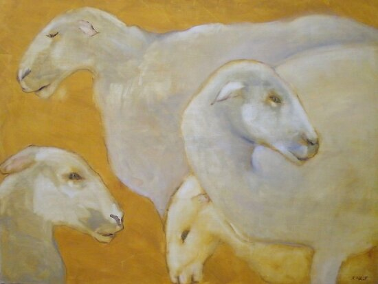 Saint Sheep by Kay Hale