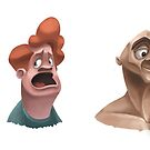 Character Designs by Tom Bradnam