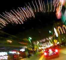 Ybor City at Night by Elizabeth Hoskinson