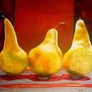 Pears by Sandrine Pelissier