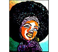 A IS FOR AFRO Photographic Print