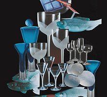 Les verres bleus by michel pepy