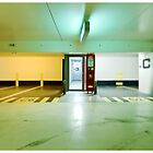 Colored exit by Richard Vantielcke
