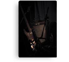 Fender Combo Canvas Print